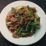 Lamb with Scallions