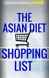asian diet plan healthy weight loss shopping list
