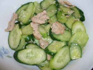 asian diet plan healthy weight loss cucumber chicken recipe