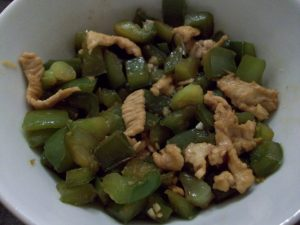 asian diet plan healthy weight loss green pepper chicken recipe