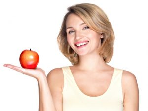 healthy-woman-apple (FILEminimizer)